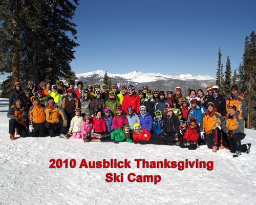 2010 Ausblick Thanksgiving Ski Camp
