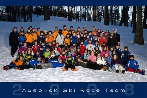 Ausblick 2008 Team Photo